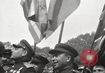 Image of officials meet Torgau Germany, 1945, second 23 stock footage video 65675063152