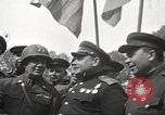 Image of officials meet Torgau Germany, 1945, second 24 stock footage video 65675063152