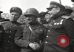 Image of officials meet Torgau Germany, 1945, second 26 stock footage video 65675063152