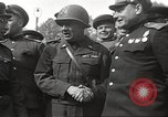 Image of officials meet Torgau Germany, 1945, second 27 stock footage video 65675063152