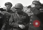 Image of officials meet Torgau Germany, 1945, second 29 stock footage video 65675063152