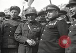 Image of officials meet Torgau Germany, 1945, second 30 stock footage video 65675063152