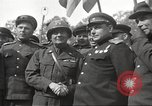 Image of officials meet Torgau Germany, 1945, second 31 stock footage video 65675063152