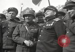 Image of officials meet Torgau Germany, 1945, second 32 stock footage video 65675063152