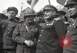 Image of officials meet Torgau Germany, 1945, second 33 stock footage video 65675063152