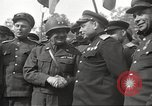 Image of officials meet Torgau Germany, 1945, second 34 stock footage video 65675063152