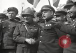 Image of officials meet Torgau Germany, 1945, second 35 stock footage video 65675063152
