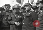 Image of officials meet Torgau Germany, 1945, second 36 stock footage video 65675063152