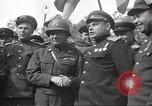 Image of officials meet Torgau Germany, 1945, second 38 stock footage video 65675063152
