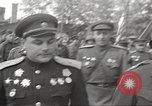 Image of officials meet Torgau Germany, 1945, second 39 stock footage video 65675063152