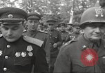 Image of officials meet Torgau Germany, 1945, second 40 stock footage video 65675063152