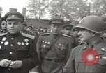 Image of officials meet Torgau Germany, 1945, second 42 stock footage video 65675063152