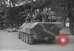 Image of officials meet Torgau Germany, 1945, second 52 stock footage video 65675063152
