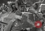 Image of officials meet Torgau Germany, 1945, second 56 stock footage video 65675063152