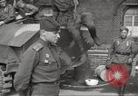 Image of officials meet Torgau Germany, 1945, second 59 stock footage video 65675063152