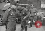 Image of officials meet Torgau Germany, 1945, second 60 stock footage video 65675063152