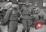 Image of officials meet Torgau Germany, 1945, second 61 stock footage video 65675063152