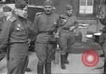 Image of officials meet Torgau Germany, 1945, second 62 stock footage video 65675063152