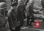 Image of Allied soldiers Torgau Germany, 1945, second 42 stock footage video 65675063154