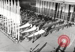 Image of manufacture of German Army parachutes World War 2 Germany, 1939, second 11 stock footage video 65675063156