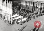 Image of manufacture of German Army parachutes World War 2 Germany, 1939, second 12 stock footage video 65675063156