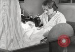 Image of manufacture of German Army parachutes World War 2 Germany, 1939, second 17 stock footage video 65675063156