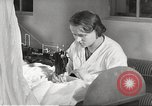 Image of manufacture of German Army parachutes World War 2 Germany, 1939, second 18 stock footage video 65675063156