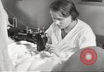 Image of manufacture of German Army parachutes World War 2 Germany, 1939, second 19 stock footage video 65675063156