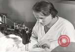 Image of manufacture of German Army parachutes World War 2 Germany, 1939, second 20 stock footage video 65675063156