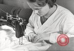 Image of manufacture of German Army parachutes World War 2 Germany, 1939, second 21 stock footage video 65675063156