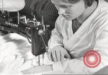 Image of manufacture of German Army parachutes World War 2 Germany, 1939, second 22 stock footage video 65675063156