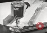 Image of manufacture of German Army parachutes World War 2 Germany, 1939, second 24 stock footage video 65675063156