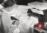 Image of manufacture of German Army parachutes World War 2 Germany, 1939, second 32 stock footage video 65675063156