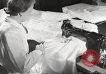 Image of manufacture of German Army parachutes World War 2 Germany, 1939, second 33 stock footage video 65675063156