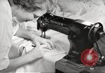 Image of manufacture of German Army parachutes World War 2 Germany, 1939, second 48 stock footage video 65675063156