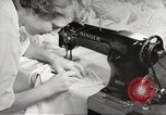 Image of manufacture of German Army parachutes World War 2 Germany, 1939, second 49 stock footage video 65675063156