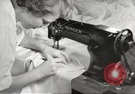 Image of manufacture of German Army parachutes World War 2 Germany, 1939, second 50 stock footage video 65675063156