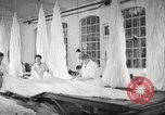 Image of manufacture of German Army parachutes World War 2 Germany, 1939, second 51 stock footage video 65675063156