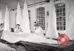Image of manufacture of German Army parachutes World War 2 Germany, 1939, second 55 stock footage video 65675063156