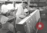Image of manufacture of German Army parachutes World War 2 Germany, 1939, second 57 stock footage video 65675063156