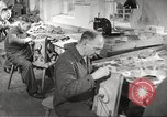 Image of manufacture of German Army parachutes World War 2 Germany, 1939, second 62 stock footage video 65675063156