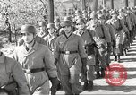 Image of German soldiers march and sing Germany, 1939, second 5 stock footage video 65675063161