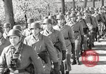 Image of German soldiers march and sing Germany, 1939, second 7 stock footage video 65675063161