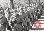 Image of German soldiers march and sing Germany, 1939, second 8 stock footage video 65675063161