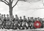 Image of German soldiers march and sing Germany, 1939, second 17 stock footage video 65675063161