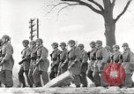 Image of German soldiers march and sing Germany, 1939, second 21 stock footage video 65675063161