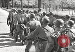 Image of German soldiers march and sing Germany, 1939, second 22 stock footage video 65675063161