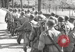 Image of German soldiers march and sing Germany, 1939, second 23 stock footage video 65675063161
