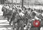 Image of German soldiers march and sing Germany, 1939, second 24 stock footage video 65675063161