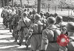 Image of German soldiers march and sing Germany, 1939, second 25 stock footage video 65675063161